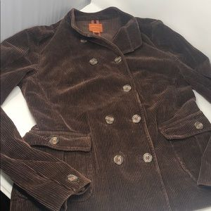 Anonymous John Carlisle brown corduroy jacket
